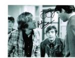 Peter Cleall & David Barry from hit TV show Please Sir & The Fenn Street Gang signed 10 by 8